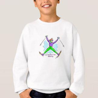 Sweatshirt Skieur de style libre