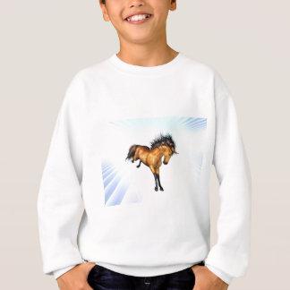 Sweatshirt s'opposant de la jeunesse de licorne