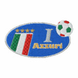 Sweatshirt spécial de drapeau de Forza Azzuri Ital