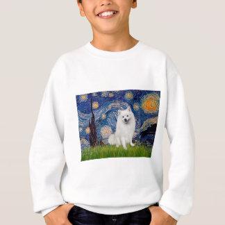 Sweatshirt Spitz esquimau 1 - nuit étoilée