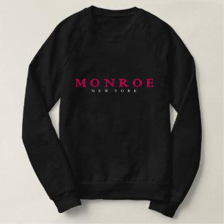 Sweatshirt sueur de noir de Monroe