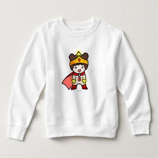 Sweatshirt SUPERBE d'ouatine d'enfant en bas âge