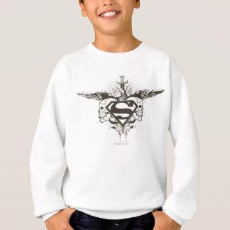 Sweatshirt Superman a stylisé le logo de crânes de |
