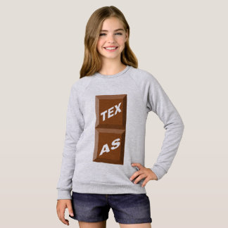 SWEATSHIRT SWEAT-SHIRT  GRIS  BRUYÈRE  TEXAS   CHOCOLAT