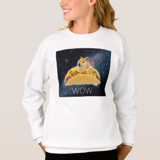 Sweatshirt Taco de doge - doge chien-mignon de