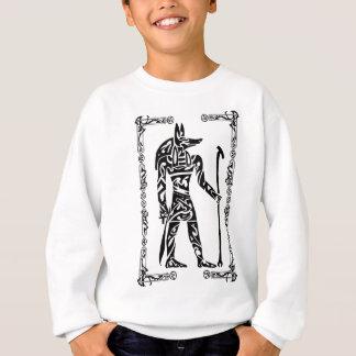 Sweatshirt Tatouage tribal Anubis