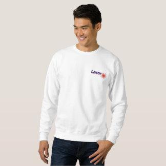 Sweatshirt tee - shirt de radial de laser
