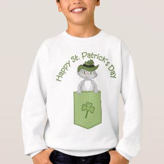 Sweatshirt Tee - shirt et cadeaux de chat du jour de St