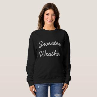 Sweatshirt Temps de chandail