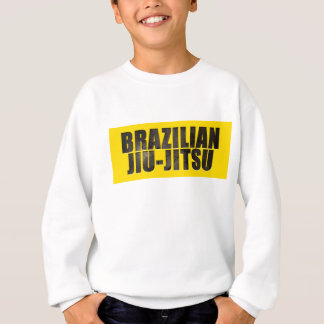 Sweatshirt Texte ciselé par Jiu-Jitsu de Brésilien