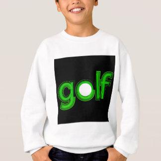Sweatshirt texte de golf
