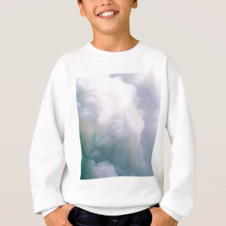 Sweatshirt texture de fumée de nuage