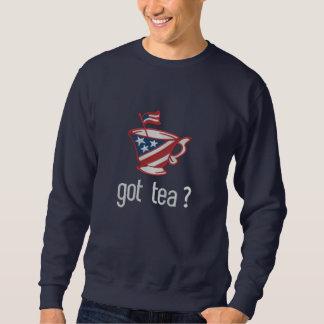 Sweatshirt thé obtenu ? Slogan de thé