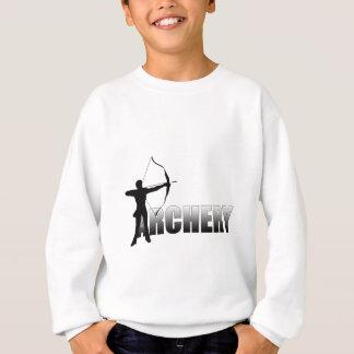 Sweatshirt Tir à l'arc 2012 de jeux d'été d'archers