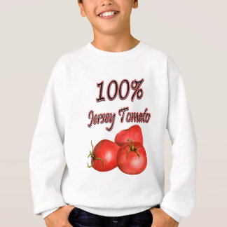 Sweatshirt Tomate 100% du Jersey