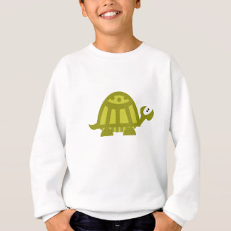 Sweatshirt Tortue verte