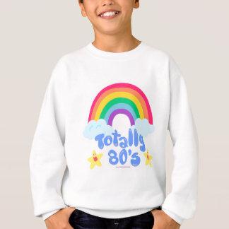 Sweatshirt Totalement arc-en-ciel 80s