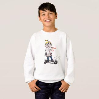 Sweatshirt Tour dessus