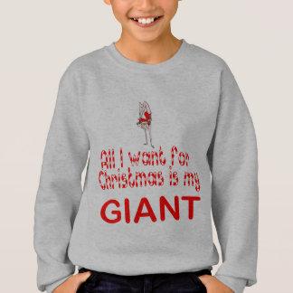 Sweatshirt Tous je veux le géant