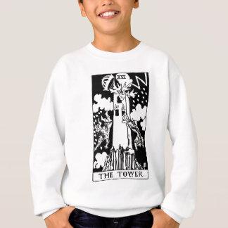 Sweatshirt Tower de carte de tarot '