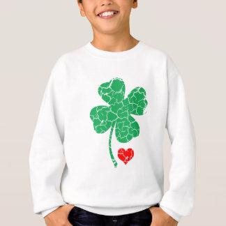 Sweatshirt Trèfle chanceux de quatre feuilles - le jour de St