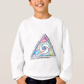 Sweatshirt Triangle de Celtic de gymnastique