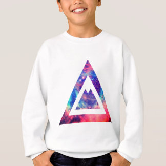Sweatshirt Triangle de l'espace de hippie