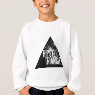 Sweatshirt Triangle drôle de hippie