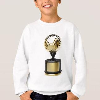Sweatshirt Trophée d'or avec la boule de golf
