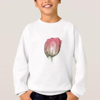 Sweatshirt Tulipe rouge
