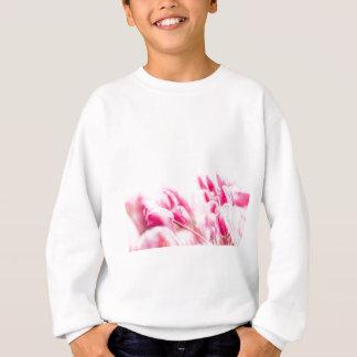 Sweatshirt Tulipes roses