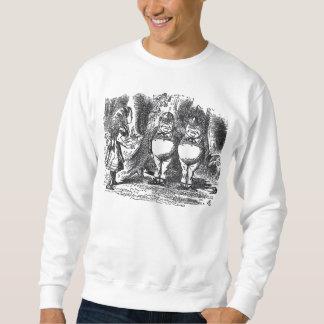 Sweatshirt Tweedledum et Tweedledee
