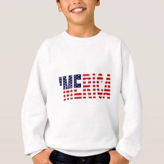 Sweatshirt U.S. Chemise de MERICA de drapeau '
