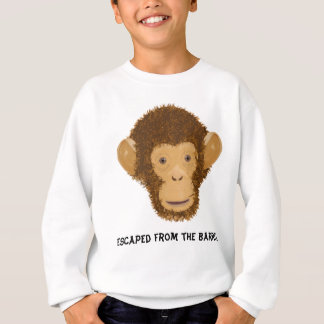 Sweatshirt Un baril plein des singes