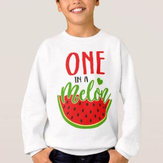 Sweatshirt Un dans un melon
