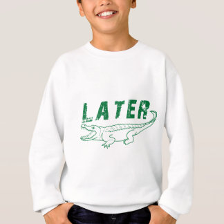 Sweatshirt Un plus défunt alligator