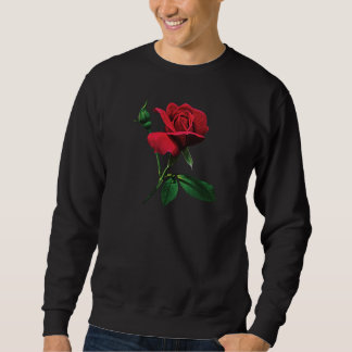 Sweatshirt Un rouge Rosebud