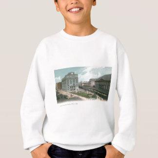 Sweatshirt Union de tonnelier. Ville de NY