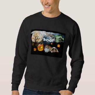 Sweatshirt unisexe de Sheltie Halloween