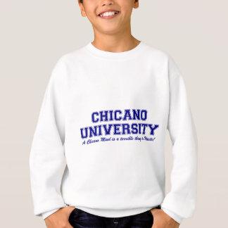 Sweatshirt Université chicano