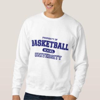 Sweatshirt Université de basket-ball