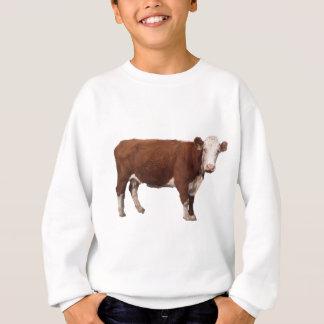 Sweatshirt Vache à Brown