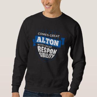 Sweatshirt Venez grand ALTON. Anniversaire de cadeau