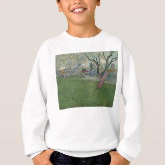 Sweatshirt Vergers dans la vue de fleur d'Arles par Van Gogh