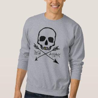 Sweatshirt Version 1 de crâne de dent d'or
