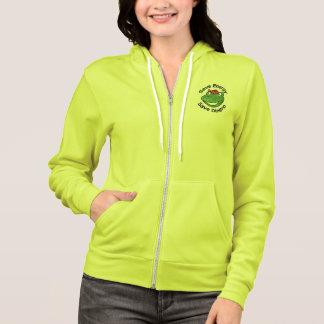 Sweatshirt vert de guerriers d'Eco