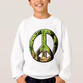 Sweatshirt Vert de paix