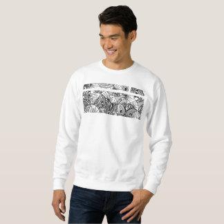 Sweatshirt vieux style d'arabesque