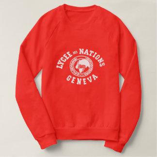 Sweatshirt vintage de nations de DES de Lycée
