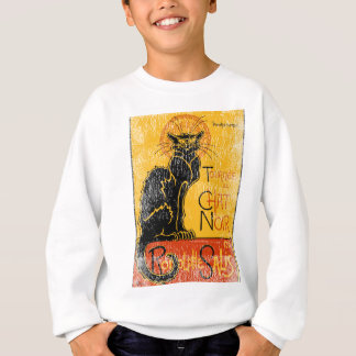 Sweatshirt Vintage Tour du Chat Noir Black Cat Halloween